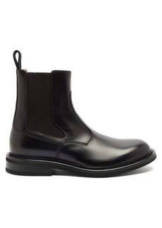 Bottega Veneta Panelled-leather chelsea boots