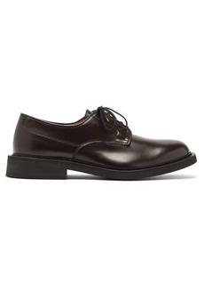 Bottega Veneta Panelled leather derby shoes
