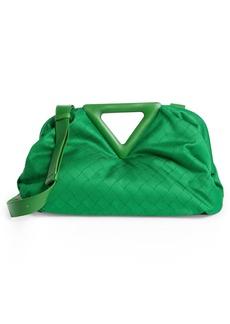 Bottega Veneta Point Jacquard Shoulder Bag