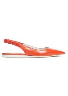 Bottega Veneta Point-toe slingback leather flats