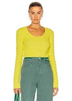 Bottega Veneta Pom Pom Sweater