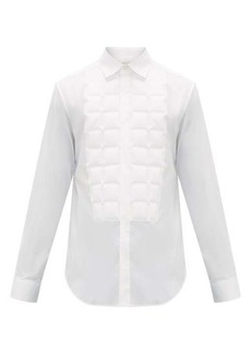 Bottega Veneta Quilted cotton-blend shirt