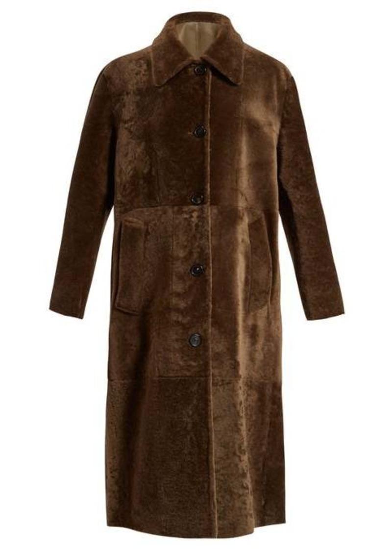 Bottega Veneta Reversible long shearling coat