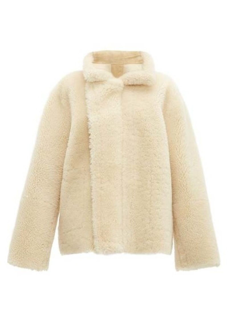 Bottega Veneta Reversible shearling and suede jacket
