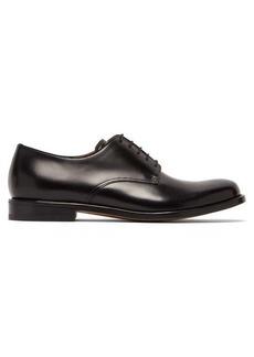 Bottega Veneta Round-toe leather derby shoes