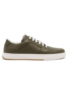 Bottega Veneta Seamless leather trainers