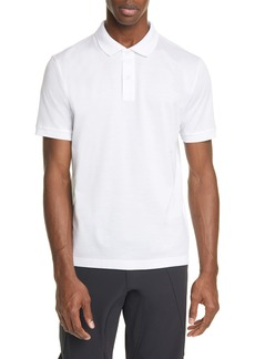 Bottega Veneta Short Sleeve Piqué Polo