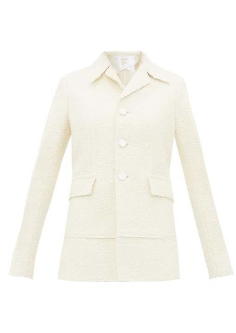 Bottega Veneta Single-breasted bouclé jacket