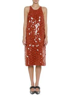 Bottega Veneta Sleeveless Paillette Tank Dress