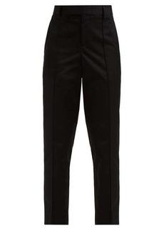 Bottega Veneta Slim-leg cotton-poplin trousers