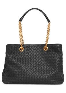 Bottega Veneta Small Intrecciato Leather Hobo