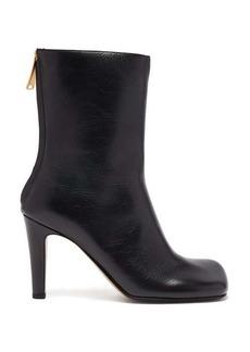 Bottega Veneta Squared-toe leather boots