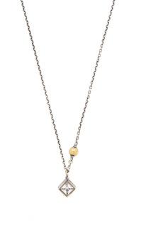 Bottega Veneta Sterling-silver & crystal necklace