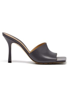 Bottega Veneta Stretch square-toe leather mules
