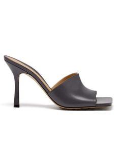 Bottega Veneta Stretch square-toe leather mules