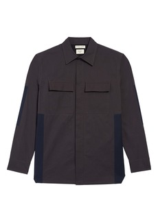 Bottega Veneta Structured Colorblock Utility Shirt