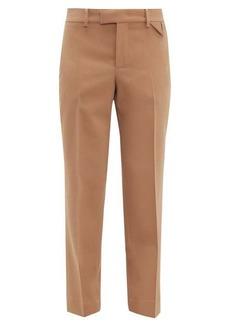 Bottega Veneta Tailored wool straight-leg trousers