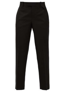 Bottega Veneta Tailored wool-twill trousers