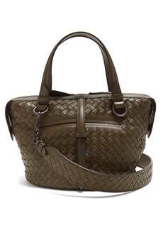 Bottega Veneta Tambura small Intrecciato leather bag