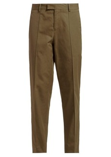 Bottega Veneta Tapered crepe trousers