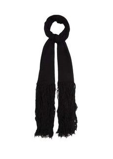 Bottega Veneta Tasseled cashmere and wool scarf