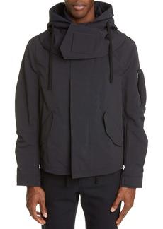 Bottega Veneta Tech Hooded Jacket