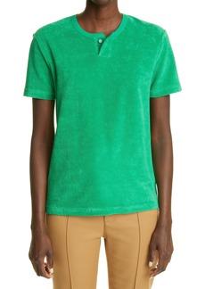 Bottega Veneta Terry Cloth T-Shirt