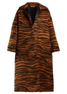 Bottega Veneta Tiger-stripe coat
