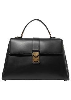 Bottega Veneta Woman Piazza Large Intrecciato-paneled Leather Tote Black