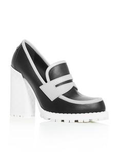 Bottega Veneta Women's High Block-Heel Loafers
