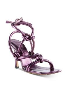 Bottega Veneta Women's Metallic Leather High-Heel Sandals