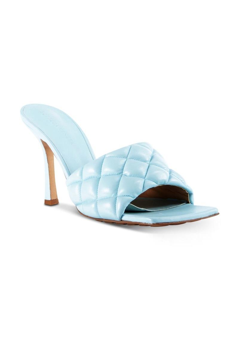 Bottega Veneta Women's Quilted Leather High-Heel Sandals