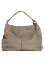 d4d0cc808f Bottega Veneta Bottega Veneta Woven Edge Deerskin Leather Hobo ...