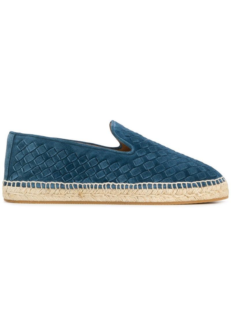 4719d5f9a Bottega Veneta Bottega Veneta woven espadrilles - Blue   Shoes