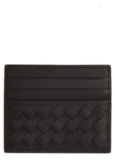 Bottega Veneta Woven Leather Card Case