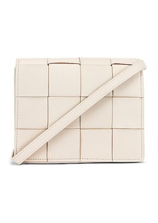 Bottega Veneta Woven Leather Crossbody Bag