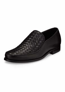 Bottega Veneta Woven Leather Loafer