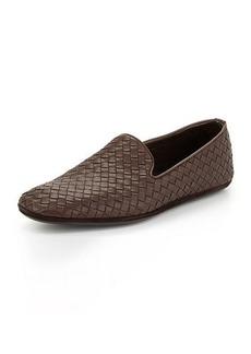 Bottega Veneta Woven Leather Slipper