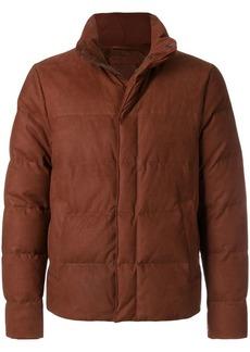 Bottega Veneta calvados lamb nabuck jacket