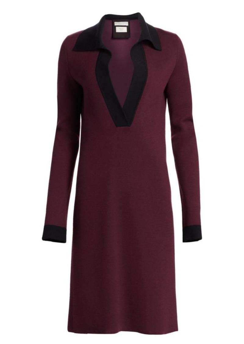 Bottega Veneta Cashmere-Blend Polo Dress