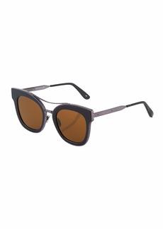 Bottega Veneta Cat-Eye Acetate Sunglasses