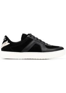 Bottega Veneta chevron stitch sneakers
