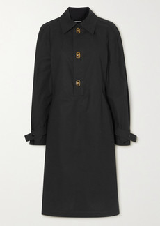 Bottega Veneta Coated-cotton Dress
