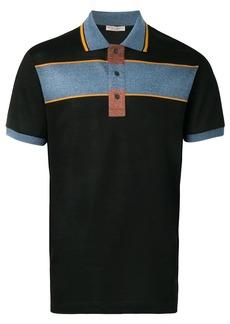 Bottega Veneta colourblock polo shirt