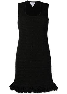 Bottega Veneta Compact Pom Pom mini dress