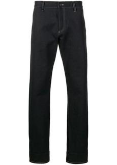 Bottega Veneta contrast selvedge denim jeans