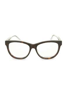 Bottega Veneta Core Blue Light 54MM Square Optical Glasses