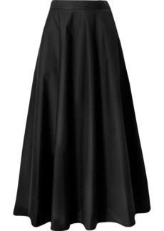 Bottega Veneta Cotton-blend Poplin Midi Skirt