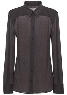Bottega Veneta Crepe Jersey Shirt