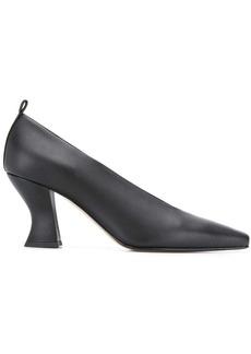 Bottega Veneta curved heel pumps